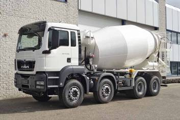 MAN TGS 41.400 BB-WW 8X4 CONCRETE MIXER