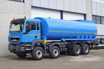 MAN TGS 41.400 BB-WW 8X4 WATERSPRAY TANK TRUCK