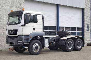 MAN TGS 40.480 BBS-WW 6X6 TRACTOR HEAD RHD