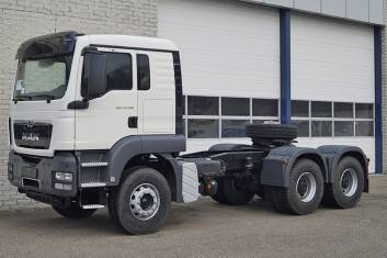 MAN TGS 33.400 BBS-WW AT TRACTOR HEAD