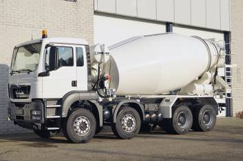 MAN TGS 41.360 BB-WW CONCRETE MIXER
