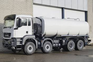 MAN TGS 41.400 BB-WW AT WATERSPRAY TANK TRUCK