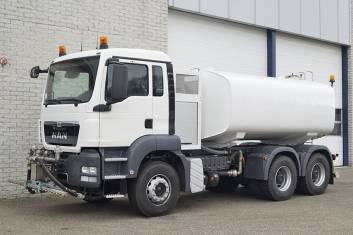 MAN TGS 33.360 HIGH PRESSURE CLEANING TRUCK