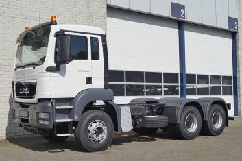 MAN TGS 33.360 BB-WW CHASSIS CABIN