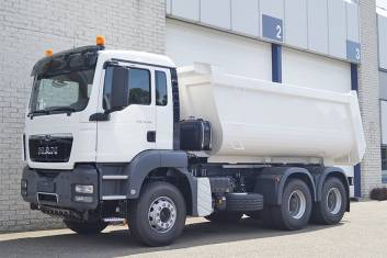 MAN TGS 33.360 BB-WW KIPPER TRUCK