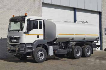 MAN TGS 33.360 BB-WW WATERSPRAY TANK TRUCK