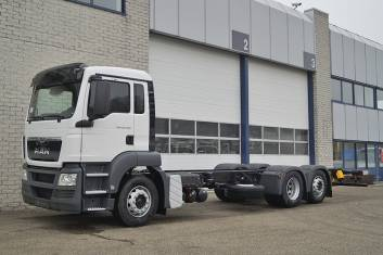MAN TGS 26.360 BL-WW 5100mm CHASSIS CABIN