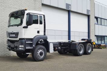 5x MAN TGS 33.400 BB-WW 4500mm CHASSIS CABIN