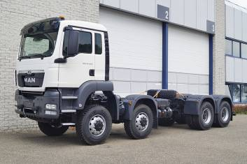3x MAN TGS 41.440 BB-WW AT 3600mm CHASSIS CABIN