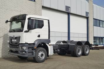 MAN TGS 33.400 CC CH 4500mm CHASSIS CABIN