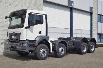 MAN TGS 41.400 BB CH 2980mm CHASSIS CABIN